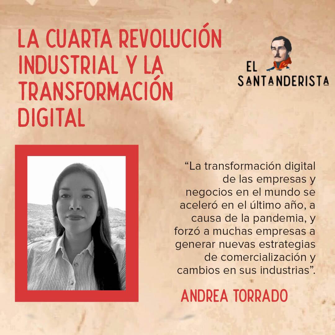 La cuarta revolución industrial y la transformación digital andrea torrado el santanderista