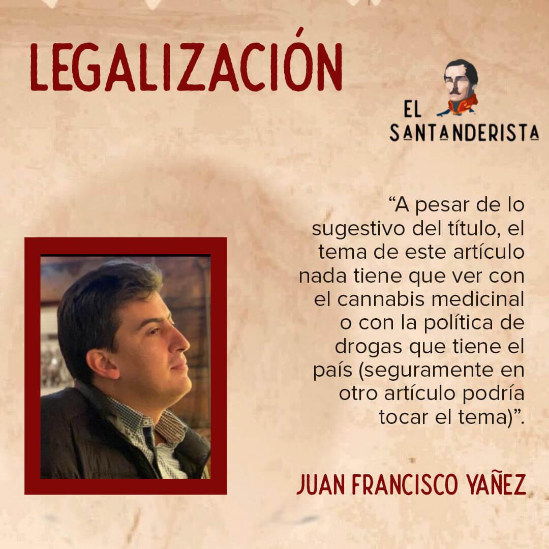 Legalización el santanderista
