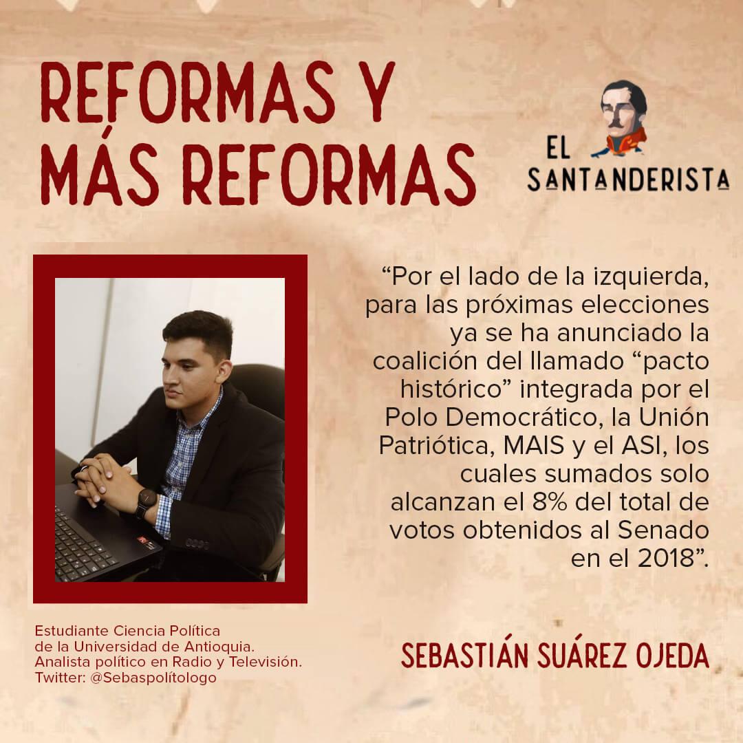 el santanderista reformas y más reformas