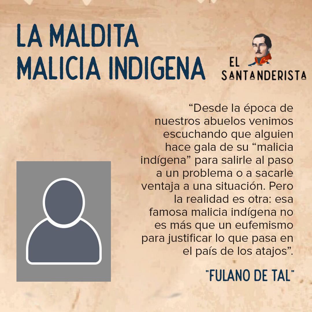 malicia indígena fulano de tal